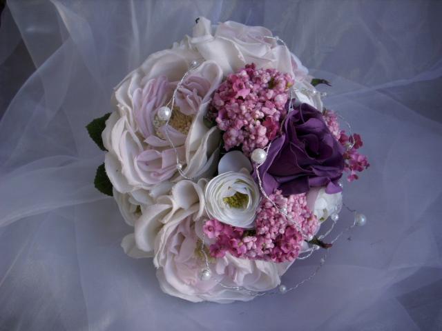 brautstrauss rose lilie gerbera ranunkel rosa vintage. Black Bedroom Furniture Sets. Home Design Ideas