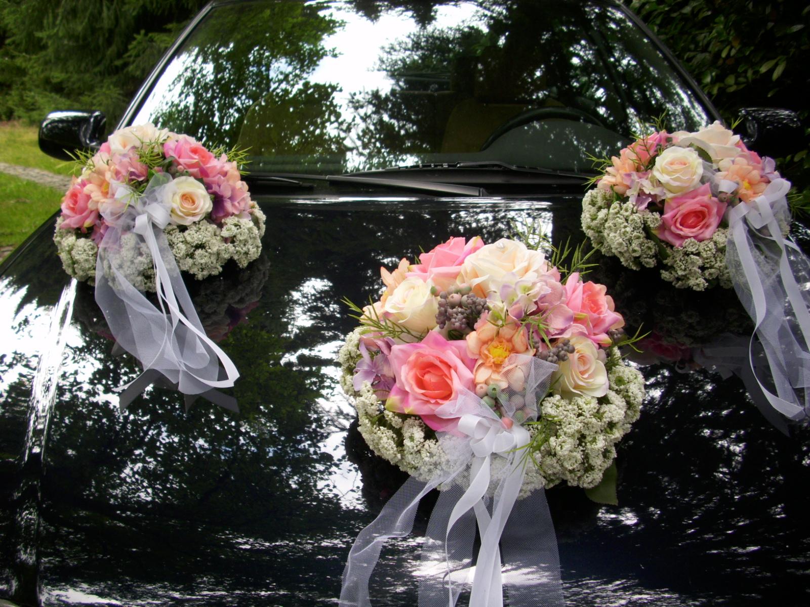 Vakuumsauger Saugnapf Auto Hochzeitsauto Blumen Gesteck Halter